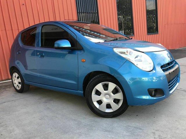 Used Suzuki Alto GF GL Molendinar, 2011 Suzuki Alto GF GL Blue 5 Speed Manual Hatchback