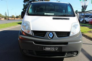 2014 Renault Trafic X83 Phase 3 Low Roof LWB Quickshift White 6 Speed Seq Manual Auto-Clutch Van.