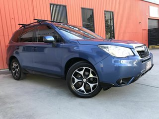 2014 Subaru Forester S4 MY14 2.5i-S Lineartronic AWD Blue 6 Speed Constant Variable Wagon.