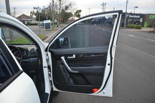 2009 Kia Sorento BL LX White 5 Speed Tiptronic Wagon
