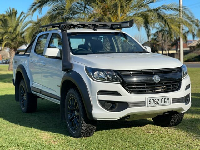 Used Holden Colorado RG MY20 LS-X Pickup Crew Cab Cheltenham, 2019 Holden Colorado RG MY20 LS-X Pickup Crew Cab White 6 Speed Manual Utility