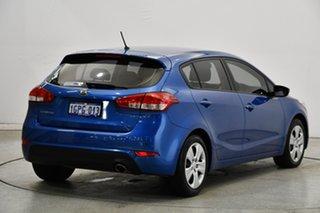 2015 Kia Cerato YD MY15 S Blue 6 Speed Sports Automatic Hatchback