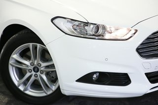 2015 Ford Mondeo MD Ambiente White 6 Speed Sports Automatic Wagon.