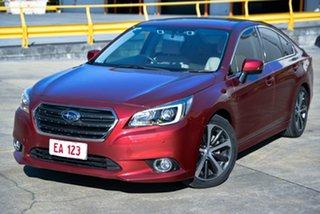 2015 Subaru Liberty B6 MY15 2.5i CVT AWD Premium Red 6 Speed Constant Variable Sedan.