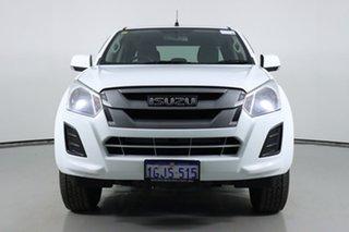 2017 Isuzu D-MAX TF MY17 SX HI-Ride (4x2) White 6 Speed Automatic Crew Cab Chassis.
