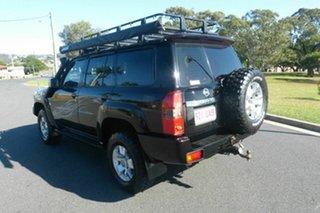 2004 Nissan Patrol GU IV MY05 ST Black 5 Speed Manual Wagon