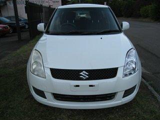 2007 Suzuki Swift EZ 07 Update S White 4 Speed Automatic Hatchback.