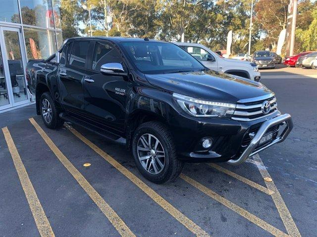 Used Toyota Hilux GUN126R SR5 Double Cab Epsom, 2017 Toyota Hilux GUN126R SR5 Double Cab 6 Speed Sports Automatic Utility