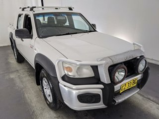 2010 Mazda BT-50 UNY0E4 DX White 5 Speed Manual Utility.