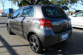 2011 Toyota Yaris NCP90R MY11 YR Grey 5 Speed Manual Hatchback