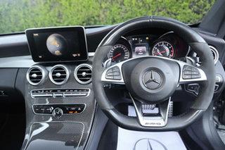 2017 Mercedes-Benz C-Class C205 808MY C43 AMG 9G-Tronic 4MATIC Selenite Grey 9 Speed