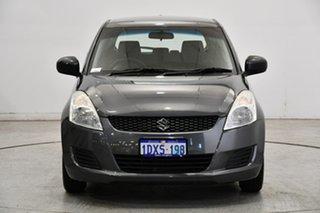 2012 Suzuki Swift FZ GA Grey 4 Speed Automatic Hatchback.