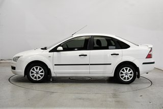 2007 Ford Focus LS CL White 4 Speed Sports Automatic Sedan.