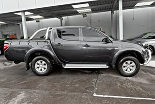 2010 Mitsubishi Triton MN MY11 GL-R Double Cab 4x2 Activ Grey 5 Speed Manual Utility.