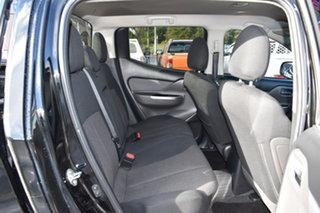 2016 Mitsubishi Triton MQ MY17 GLS Double Cab Black 5 Speed Sports Automatic Utility