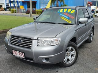 2007 Subaru Forester 79V MY08 X AWD Columbia Silver 4 Speed Automatic Wagon.