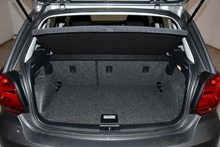 2015 Volkswagen Polo 6R MY15 81TSI DSG Comfortline Pepper Grey 7 Speed Sports Automatic Dual Clutch