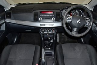 2011 Mitsubishi Lancer CJ MY11 SX Sportback White Solid 5 Speed Manual Hatchback