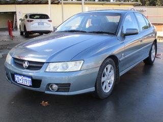 2005 Holden Berlina VZ Grey 4 Speed Automatic Sedan.