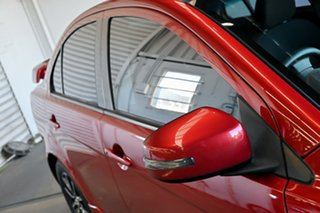 2015 Mitsubishi Lancer CF MY16 ES Sport Red 6 Speed Constant Variable Sedan.