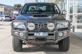 2013 Toyota Hilux KUN26R MY12 SR5 Double Cab Grey 5 Speed Manual Utility.