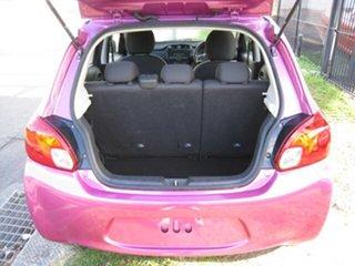 2013 Mitsubishi Mirage LA ES Purple 4 Speed Automatic Hatchback