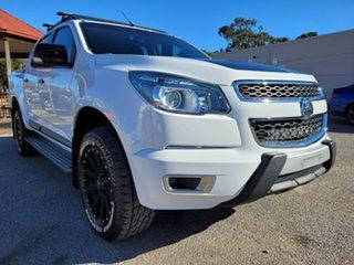 2015 Holden Colorado RG MY16 Z71 Crew Cab White 6 Speed Sports Automatic Utility.