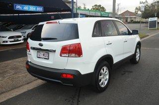 2009 Kia Sorento BL LX White 5 Speed Tiptronic Wagon.