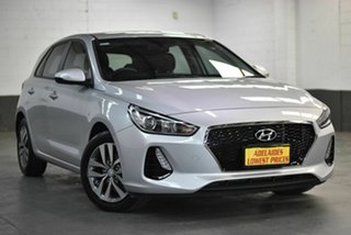 2017 Hyundai i30 GD4 Series II MY17 Active Silver 6 Speed Manual Hatchback.
