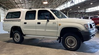 2003 Toyota Hilux VZN167R MY02 White 4 Speed Automatic Utility.
