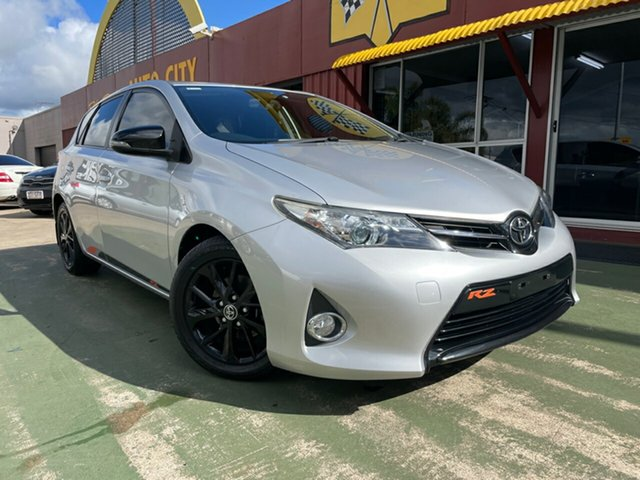 Used Toyota Corolla ZRE182R RZ Toowoomba, 2014 Toyota Corolla ZRE182R RZ 7 Speed CVT Auto Sequential Hatchback