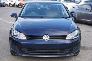 2013 Volkswagen Golf VII 90TSI DSG Night Blue 7 Speed Sports Automatic Dual Clutch Hatchback.