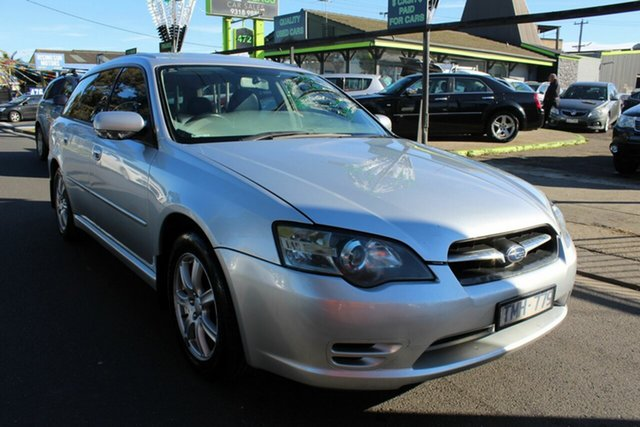 Used Subaru Liberty B4 MY05 Luxury Series AWD West Footscray, 2005 Subaru Liberty B4 MY05 Luxury Series AWD Silver 4 Speed Sports Automatic Wagon