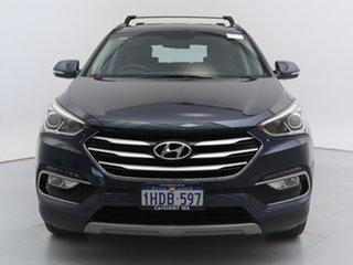 2017 Hyundai Santa Fe DM Series II (DM3)MY17 Active CRDi (4x4) Blue 6 Speed Automatic Wagon.