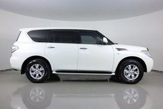 2017 Nissan Patrol Y62 Series 3 Update TI (4x4) White 7 Speed Automatic Wagon