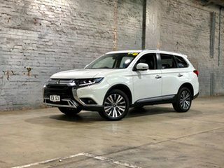 2019 Mitsubishi Outlander ZL MY19 Exceed AWD White 6 Speed Constant Variable Wagon.
