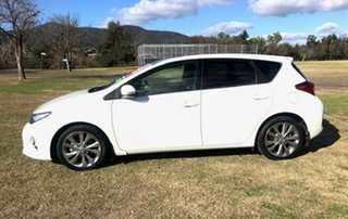2012 Toyota Corolla ZRE182R Levin S-CVT ZR White 7 Speed Constant Variable Hatchback