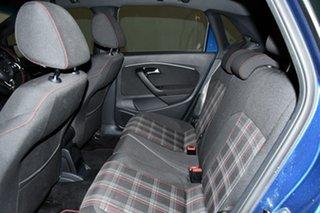 2015 Volkswagen Polo 6R MY16 GTi Blue Silk Metallic 6 Speed Manual Hatchback
