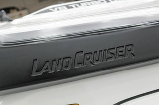 2012 Toyota Landcruiser VDJ79R MY12 Update GXL (4x4) White 5 Speed Manual Cab Chassis