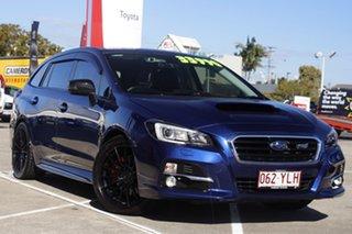 2016 Subaru Levorg V1 MY17 2.0 GT CVT AWD Blue 8 Speed Constant Variable Wagon.