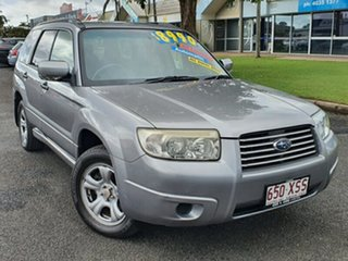 2007 Subaru Forester 79V MY08 X AWD Columbia Silver 4 Speed Automatic Wagon