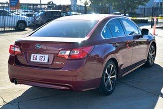 2015 Subaru Liberty B6 MY15 2.5i CVT AWD Premium Red 6 Speed Constant Variable Sedan