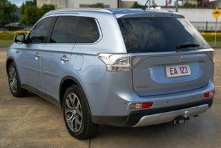 2015 Mitsubishi Outlander ZJ MY14.5 PHEV AWD Aspire Silver 1 Speed Automatic Wagon Hybrid