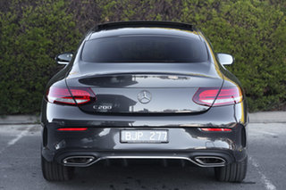2020 Mercedes-Benz C-Class C205 800+050MY C200 9G-Tronic Graphite Grey 9 Speed Sports Automatic