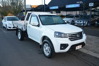 2019 Great Wall Steed K2 (4x2) White 6 Speed Manual Cab Chassis.