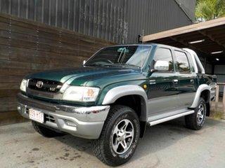2004 Toyota Hilux VZN167R MY02 SR5 Green 5 Speed Manual Utility