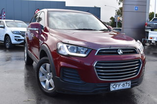 2017 Holden Captiva CG MY17 LS 2WD Red 6 Speed Sports Automatic Wagon.