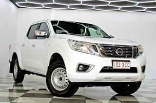 2017 Nissan Navara D23 Series II RX (4x2) White 7 Speed Automatic Double Cab Utility.