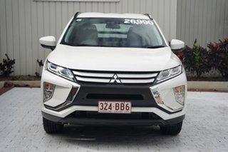 2019 Mitsubishi Eclipse Cross YA MY19 ES 2WD Starlight Black 8 Speed Constant Variable Wagon.
