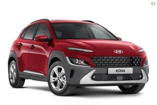 2021 Hyundai Kona Os.v4 MY21 Elite 2WD Red 8 Speed Constant Variable Wagon